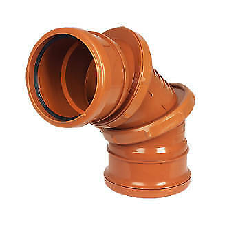 Underground Drainage 110mm Chamber Bases etc Traps Pipe /& Fittings incl Bends