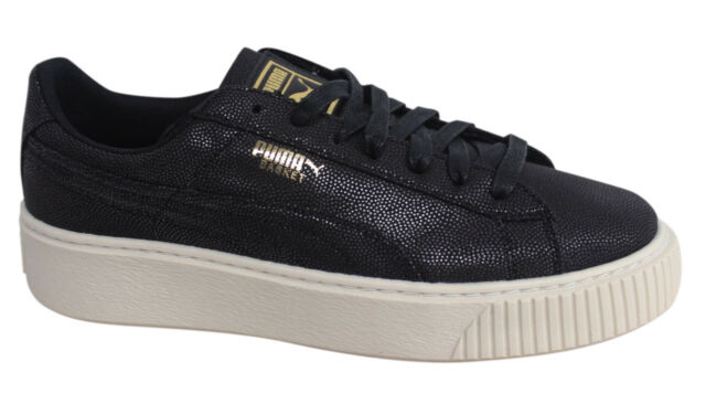Puma Scarpe Platform 365623 Basket Black Gold Rihanna Cv Nero 7FqFBw