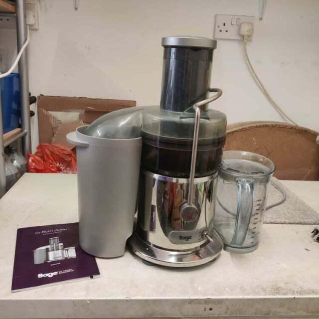 ✅ SAGE Nutri Juicer (BJE410UK) By Heston Blumenthal Good Condition Clean