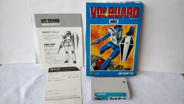 VOLGUARD MSX MSX2 Game cartridge,Manual,Boxed set tested -a63-