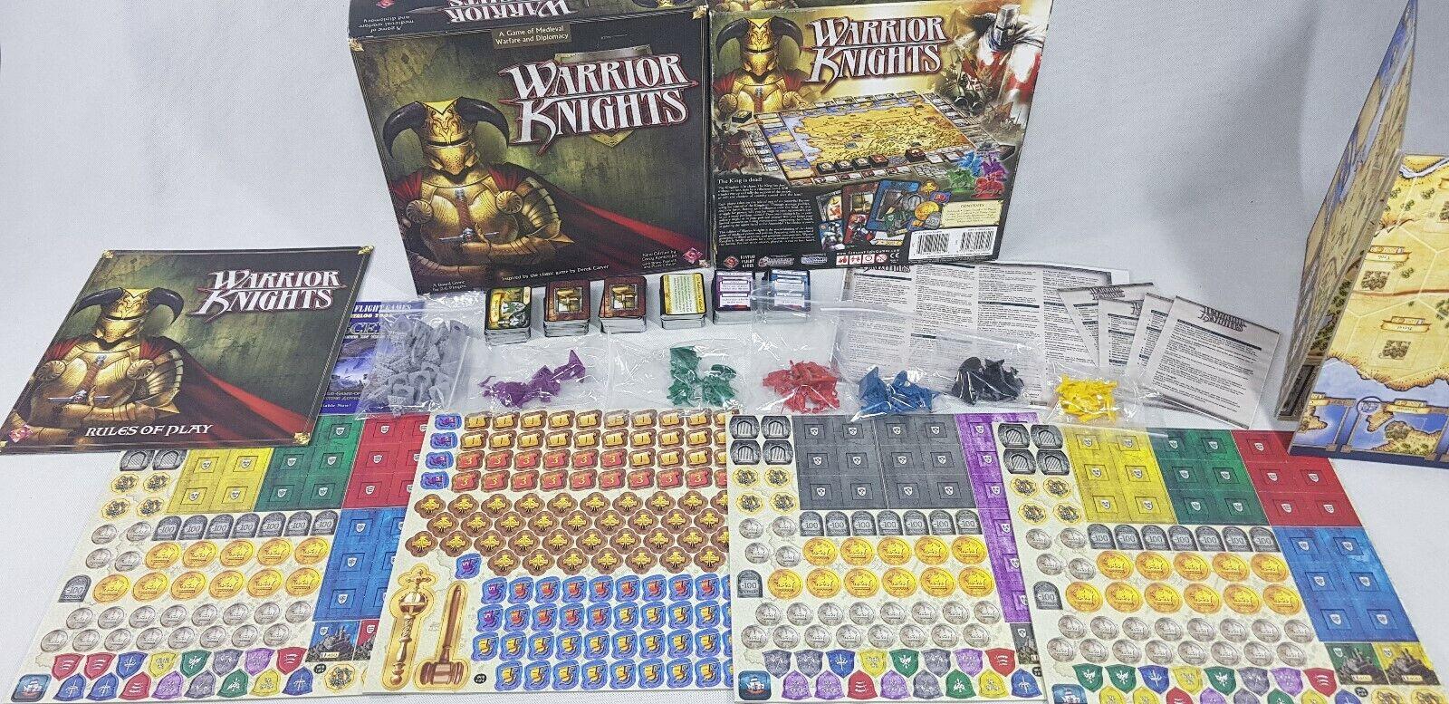 FFG-chevaliers guerriers 100% complet jeu de société Non Perforé Inutilisé