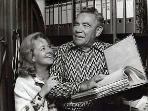 Peter-Frankenfeld-Lonny-Camarero-Vintage-Foto-de-Prensa-Norbert-Unfried-U-5889