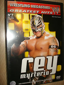 DVD-N-7-BOOK-LUTTE-SUPERSTARS-GREATEST-HITS-REY-MYSTERIO-SILVER-VISION