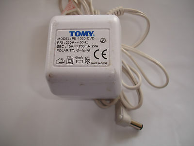 Tomy Power Adapter FOR BABY MONITOR MODEL PB-0925-CVD 9 VOLT WORKING
