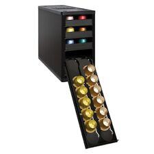 Black Organizer Nespresso Coffee 60 Capsule Storage Pod Kitchen Caféstack Holder