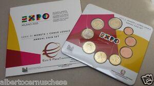 2015-9-monete-5-88-EURO-ITALIA-BU-ITALIE-2-Expo-Milano-Milan-KMS-ITALIEN-ITALY