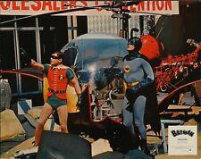 BATMAN THE MOVIE (1966) French Lobby card #2 (9x11.5) ADAM WEST SUPER RARE