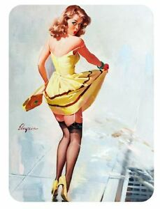 85f821af6a9b2f Vintage Style Pin Up Girl Sticker P104 Pinup Girl Sticker