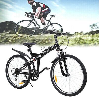 Ridgeyard 26 Zoll fat tire fahrrad Mountainbike Fahrrad Jugendfahrrad 7-Gang Rad