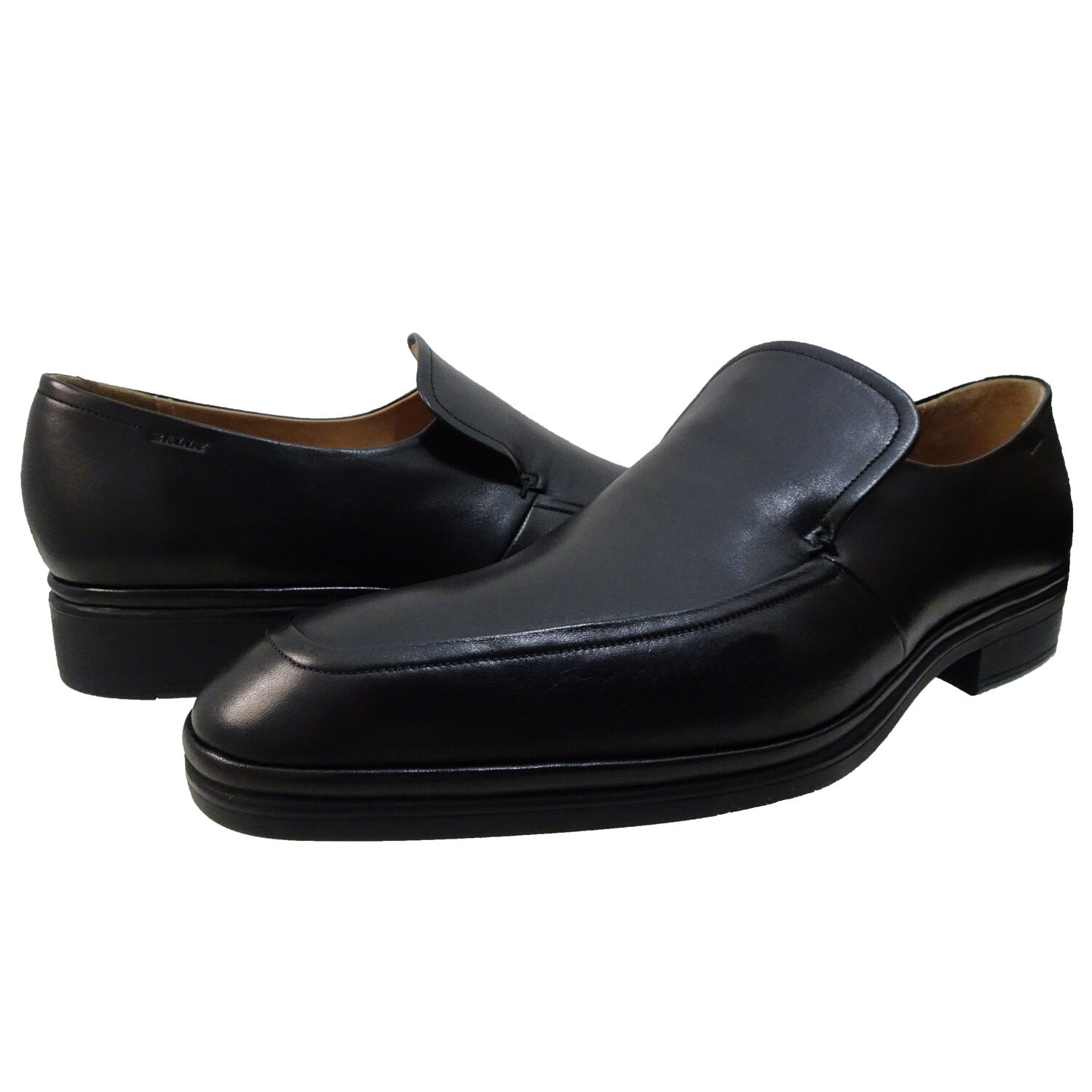 Bally Mens Nexaro Slip On Business Casual Venetian Loafers Fashion Dress shoes