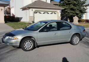 2000 Chrysler Cirrus, AUTO, A/C,  NEW TIRES, RUNNING, RELIABLE