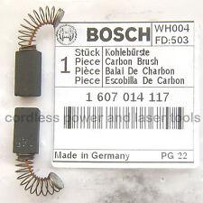 Bosch Carbon Brushes for GEX 150 AC Sander Genuine Original Part 1 607 014 117