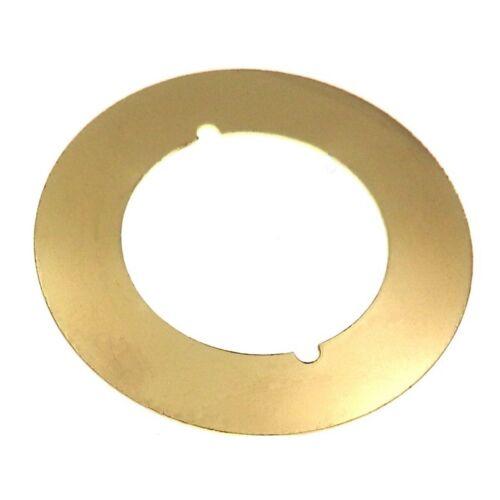 Set of Warwick Door Trim Plate Bore Adaptor Rosettes Polished Brass