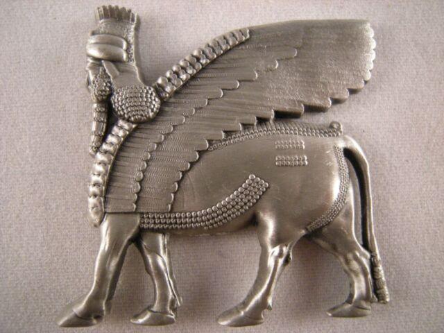 Persian Shedu Persepolis Lamassu Statue Apadana Assyrian Art Iran Fridge Magnet