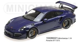 Minichamps 155066221 - Porsche 911 GT3 RS (991) –2015 – Ultrapurple L. E. .1002