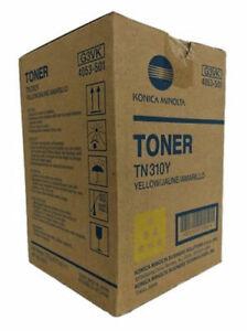 Genuine-Konica-Minolta-TN310Y-4053-501-Yellow-Toner-C350-C450-OEM-New-in-Bad-Box