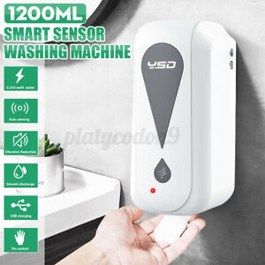 300ML-1200ML-Auto-Infrared-Sensor-Soap-Dispenser-Hand-Free-Touchless-Spray-Foam