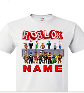 Roblox Children S T Shirt Personalised Girl S Boy S Roblox Gamer