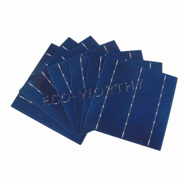 10W -1KW Solar Panel DIY 6x6 Poly Solar Cells High Power 4.3W/Pc Hobby Gift