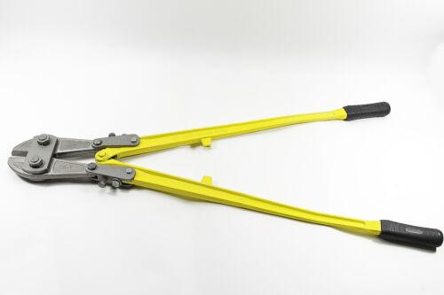 Bolzenschneider NEU 900 mm GELB Eisenschere aus geschmiedetem Stahl