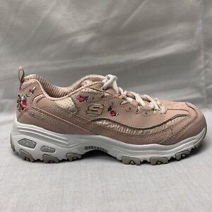 Skechers D Lites Bright Blossoms Pink