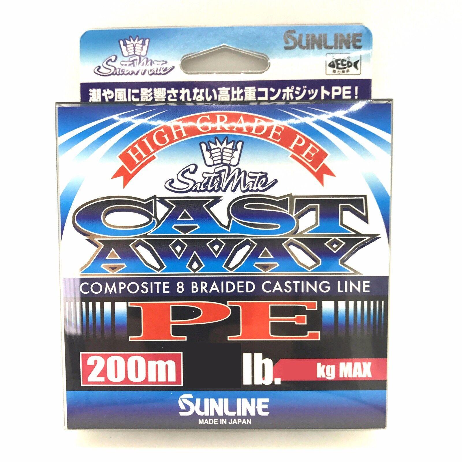 Sunline P.E Linie Cast Away PE 200m 40lb 4913
