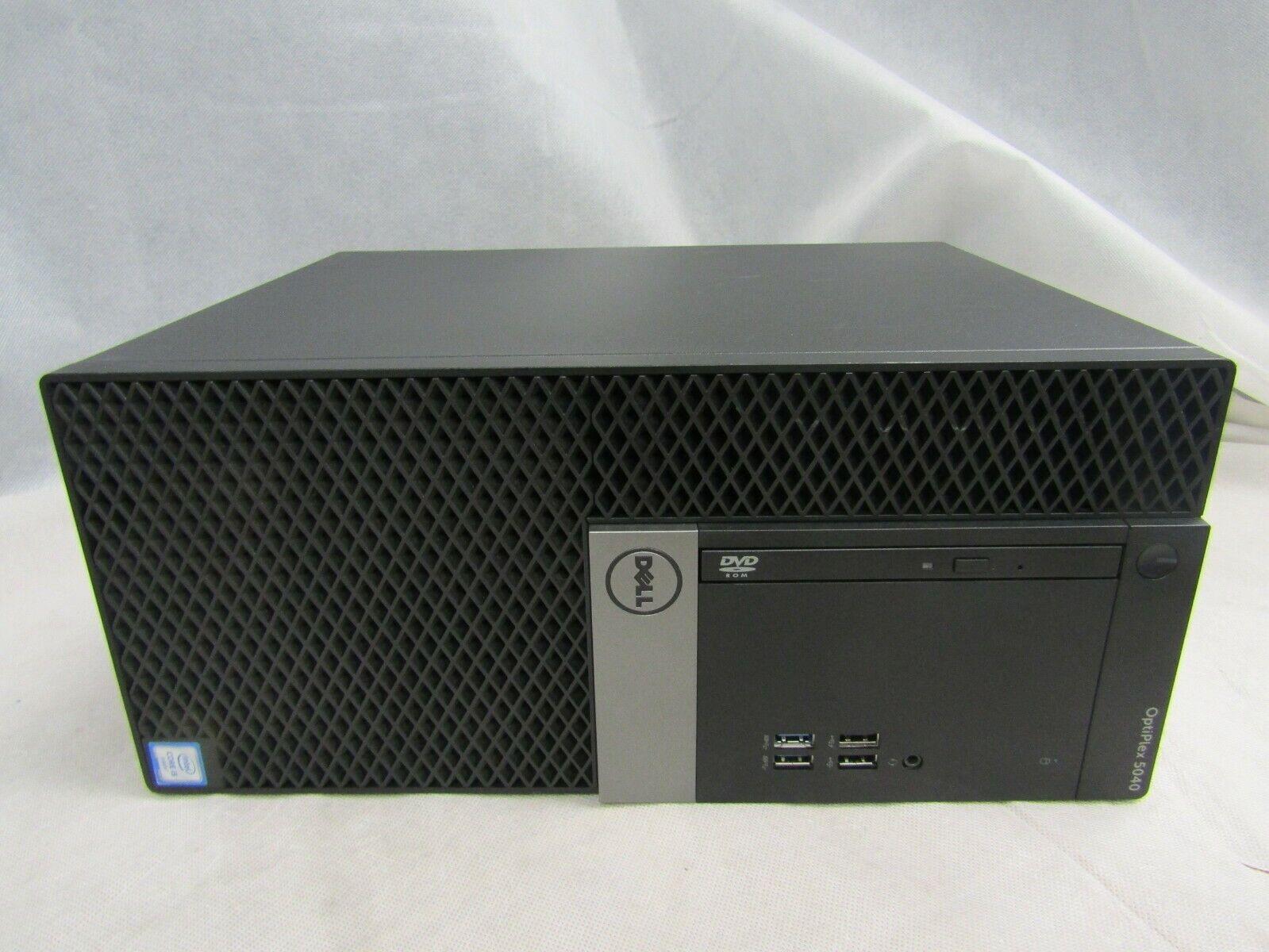 Dell OptiPlex 5040 Mini Tower Intel i3-6100 8GB RAM 128 SSD Windows 10 Pro. Buy it now for 155.10