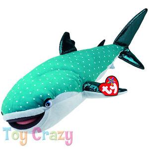 Finding Dory Destiny Shark Large Plush Ty Sparkle Beanie Babies ... 71f3c97cc705