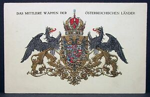 K-u-K-Patriotica-Ak-Austria-Kriegsfursorge-Red-cross-Green-Series-Lot-Y-230