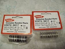 Vintage Kyosho Rc Car Parts Vz072 3517 Front Springs Ebay