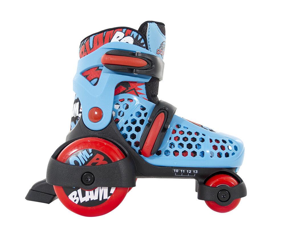 SFR - Stopper Verstellbar Kinder Skate Quad - Blau Junior Quad Skate Rollschuhe 78e727