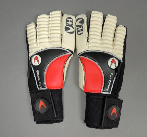 HO Enigma Pro Goalie Soccer Gants gardien Football NEW RD//WHT//BLK Retail $99