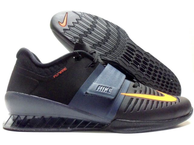 f4f1a271f878 NIKE ROMALEOS 3 WEIGHTLIFTING SHOE BLACK HYPER CRIMSON SZ MEN S 15   852933-005