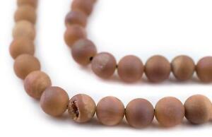 Wood Round Beads Grey 6mm 16 Inch Strand