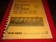 (Drawer 17) M&W Plows Operators Manual 416 418 516 518 616 618 716 718 OL OF