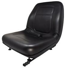 John Deere Skid Steer Black Seat With Slides 5575 6675 7775 8875