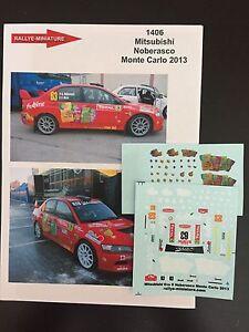 DECALS-1-43-MITSUBISHI-LANCER-NOBERASCO-RALLYE-MONTE-CARLO-2013-RALLY-WRC