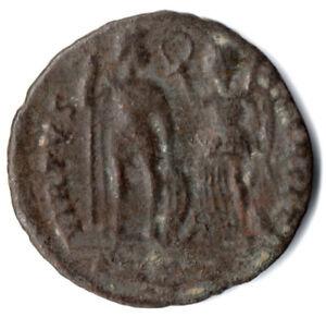 Constructif Roman Coin-arcadius 377-408ad - Virtus Exerciti -/collectible Coin #dr71-afficher Le Titre D'origine