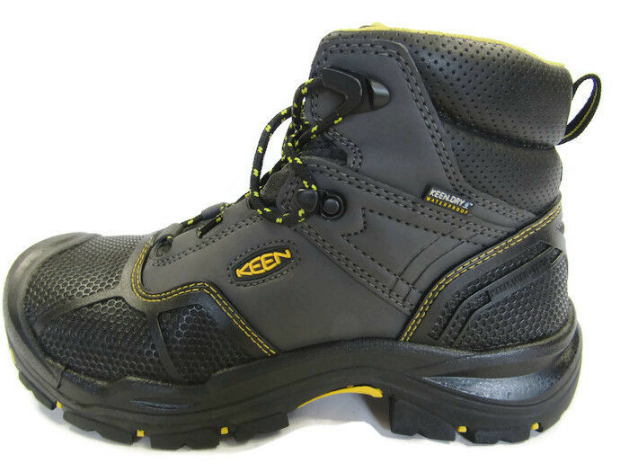 bef4fcd5941 Mens KEEN Utility Logandale Steel Toe Waterproof Work Boot BOOTS 13d  1017828D