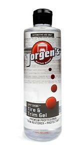 SPIT-SHINE-Tire-amp-Trim-Gel-Jorgen-039-s-Garage-INVENTORY-BLOW-OUT