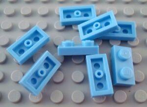 LEGO New Lot of 8 Medium Blue 1x3 Brick Pieces