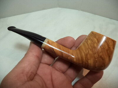 PIPA PIPE PFEIFE TOM SPANU ITALIAN PIPE FREE HAND IN OLIVO ULIVE 34 NEW