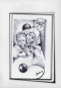 Disciplined Caprichos Del Fuego Original Art Drawing Cuba Cuban Fernando Goderich Fabars 16 High Quality And Inexpensive Art