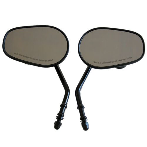 Custom Mirrors Black Rearview Side Mirror For Jeep Wrangler TJ JK 1997-2018 Pair