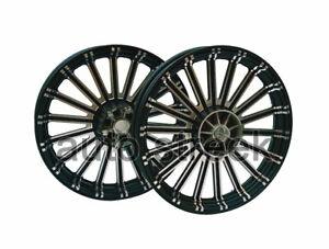 Royal Enfield Twins GT & Interceptor 650 Erado Front & Rear Alloy Wheel Rim Set