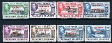 FALKLAND ISLAND DEPENDENCIES-1944-45 Overprint Set of 8 Values Sg A1-D8 M/M