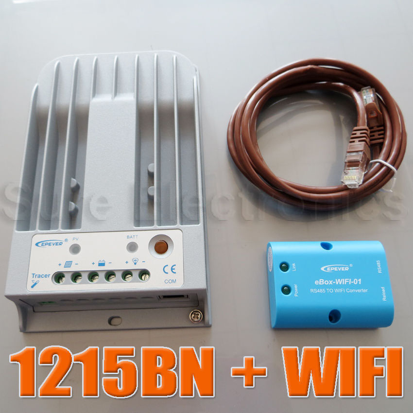 EPsolar Tracer 1215BN MPPT Solar Charge Controller  10A+APP mobile phone WIFI