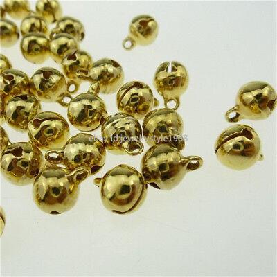 13911 200PCS Vintage Gold Tone Mini Religious Faith Cross Pendant Charms