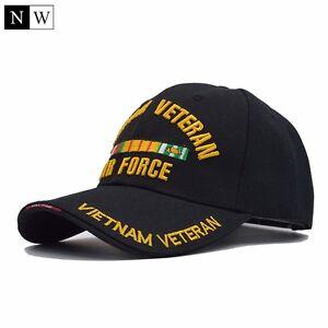 Casquette-noir-US-Air-Force-One-Reglable-NEUF