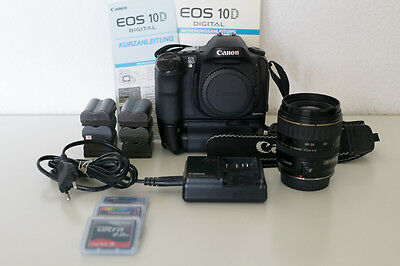 Canon EOS 10D Digitalkamera - mit 28-80mm Objektiv